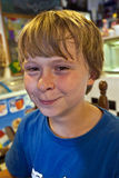 Boy in a diners Royalty Free Stock Photo