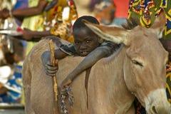 Boy in Djenne Royalty Free Stock Image