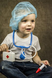 Boy doctor Royalty Free Stock Photo