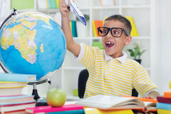 Free Boy Doesn T Like To Study Stock Photography - 33466842