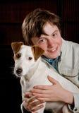 Boy and dog Royalty Free Stock Photos