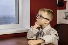 Boy dreaming Stock Photos