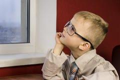 Boy dreaming Royalty Free Stock Photos