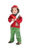 Boy dressed as architect Royalty Free Stock Photos
