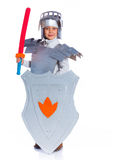 Boy dressed as a Knight Royalty Free Stock Photo