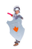 Boy dressed as a Knight Royalty Free Stock Photography