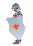 Boy dressed as a Knight Royalty Free Stock Photos