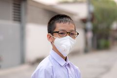Dust protection mask stock images