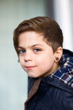 Boy with earring Stock Photography