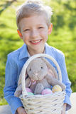 Boy at easter time Royalty Free Stock Photography