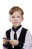 Child's Play is a banker, the seller, the buyer stock image