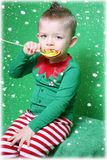 The boy elf Royalty Free Stock Photos