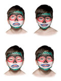 Boy and emotions Royalty Free Stock Photos
