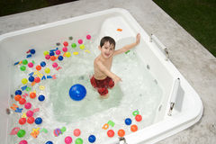 Boy enjoying the summer Royalty Free Stock Photography