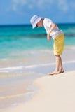 Boy enjoying vacation Stock Photo