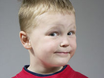Boy expression Royalty Free Stock Photography