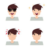 Boy Expression Faces Royalty Free Stock Photo