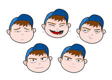 Boy Expressions Royalty Free Stock Photos