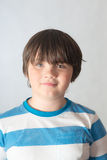 Boy with eyes of different colors royalty free stock images