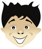 Boy Face Royalty Free Stock Images