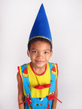 Boy in fancy dress costume. Royalty Free Stock Photography