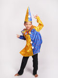 Boy in fancy dress costume. Royalty Free Stock Photos