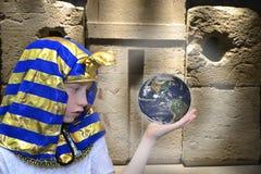 Boy farao Royalty Free Stock Image