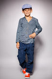 Boy fashion portrait Stock Photography