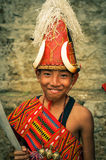 Boy at festival in India Royalty Free Stock Image