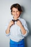 Boy flirting Stock Photos
