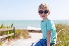 Boy in florida Royalty Free Stock Photos