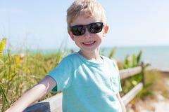 Boy in florida Royalty Free Stock Photo
