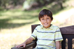 Boy in the forest series Royalty Free Stock Photo