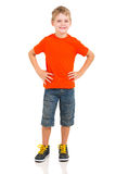 Boy full length portrait Royalty Free Stock Image