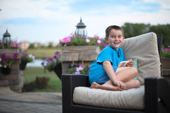Boy With Genuine Smile Royalty Free Stock Images