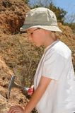 Boy Geologist Stock Photos