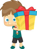 Boy Gift Stock Image