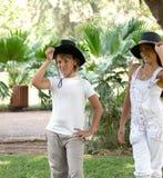 Boy and girl. Stock Photos