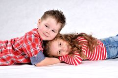 Boy and girl Royalty Free Stock Photos