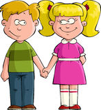 Boy with girl Stock Photography