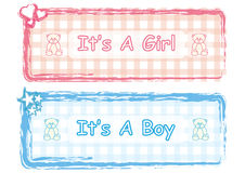 It is a Boy & Girl Royalty Free Stock Photography