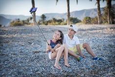 Boy and girl Stock Photos