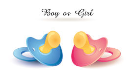 """Boy or Girl""  Congratulations Card Stock Photo"