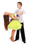 Boy and girl dancing ballet Royalty Free Stock Photography