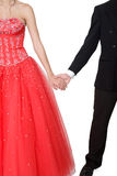 Boy & Girl Formal Royalty Free Stock Photo