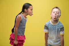 Boy and girl Royalty Free Stock Images