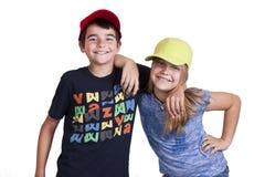 Boy and girl Stock Image