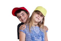 Boy and girl Stock Photography