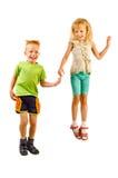 Boy and girl Royalty Free Stock Photos