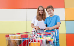 Young buyers Stock Photos